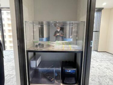 熊本市内新規お客様海水1200設置